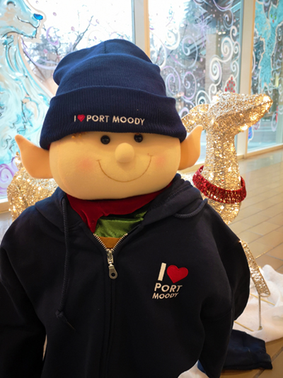 I Heart Port Moody Sweater and Toque