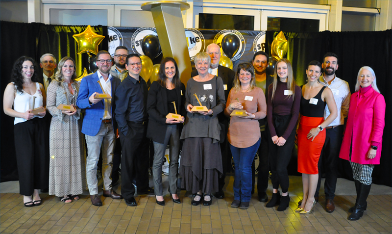 2019 recipients of the Spike Business Awards