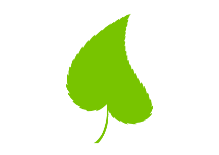 Green Waste Leaf Icon