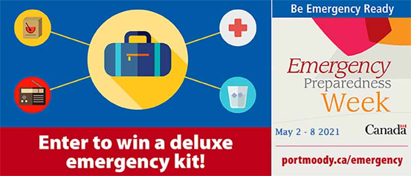 May 2-8 is Emergency Preparedness Week – be ready for anything and enter to win a deluxe emergency kit