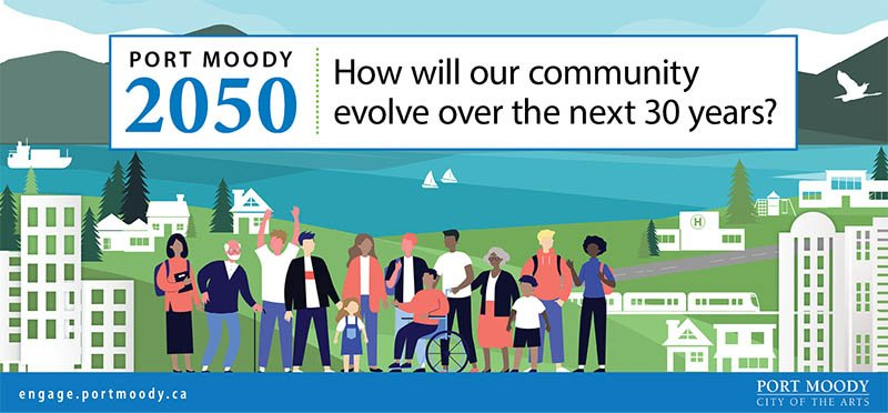 Help us create a 30-year-plan for Port Moody – fill out a community survey today