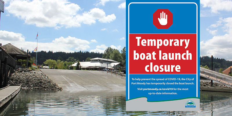 boat launch closure