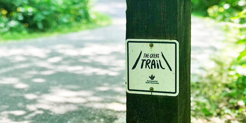 Great Trail sign