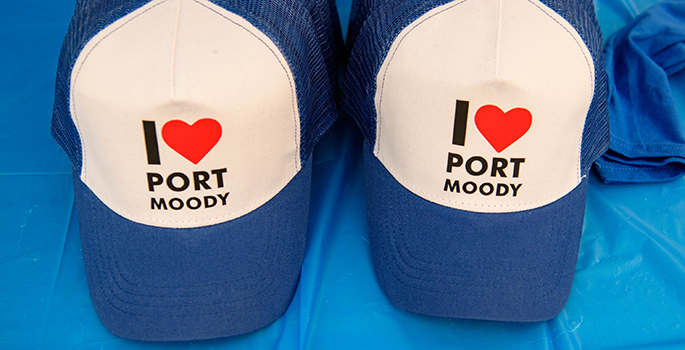 Port Moody trucker hat
