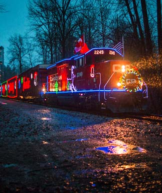 The CP Holiday Train Arrives December 17!