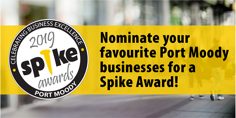 Nominate your favourite Port Moody businesses for a 2019 Spike Business Award